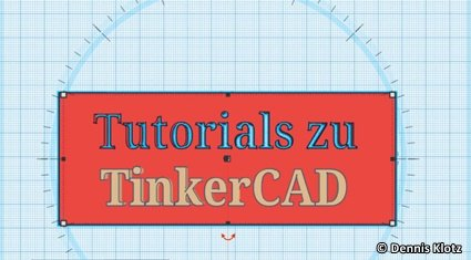 Logo Video Tutorial TinkerCAD