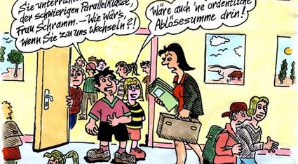 Cartoon der Woche: Initiativ