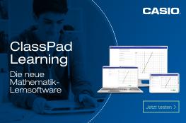 Casio; ClassPad Learning; Logo; Mathematik-Lernsoftware