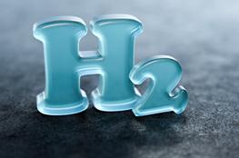 Logo Symbol Wasserstoff H2