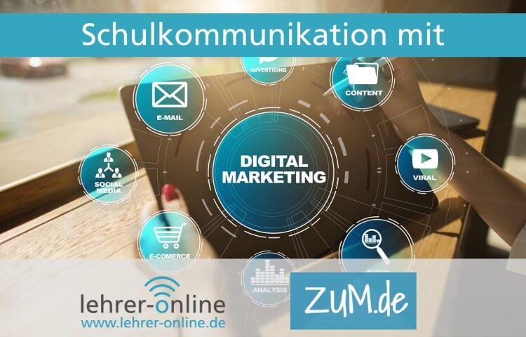 Banner digitale Kommunikation