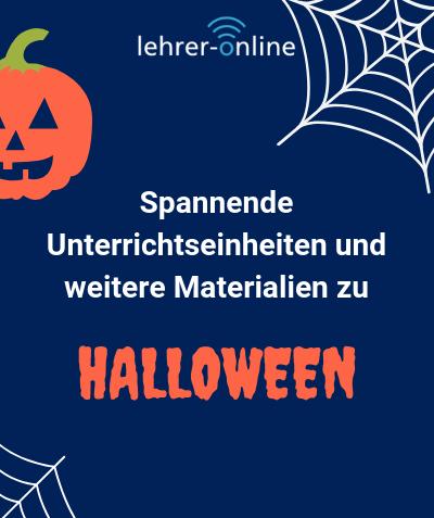Unterrichtsmaterial zum Thema Halloween