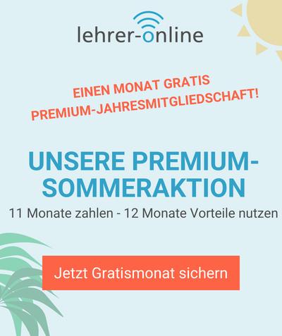 Premium-Sommeraktion 2018