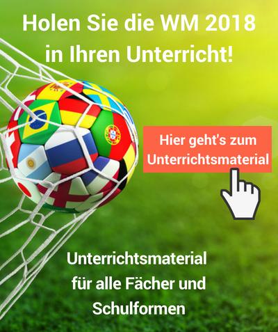 WM 2018 - Fußball im Unterricht