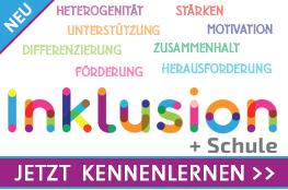 Inklusion Logo Bergmoser und Höller