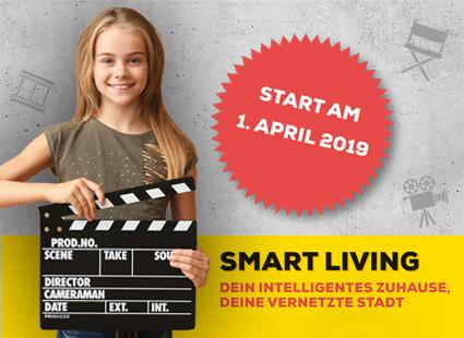 """Aufruf zur Teilnahme am Videowettbewerb """"Smart Living"""""""