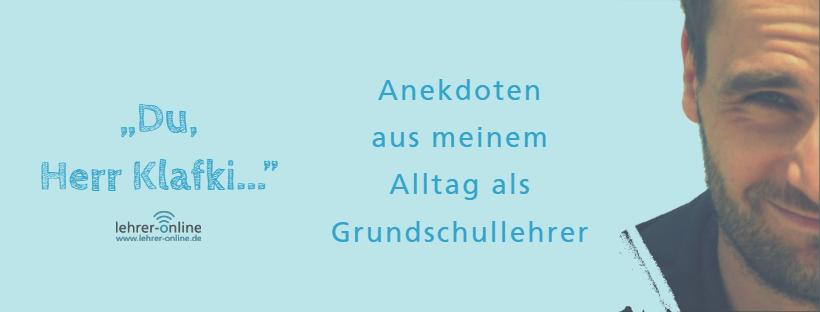 Blog für Grundschule - Herr Klafkis Blog auf Lehrer-Online