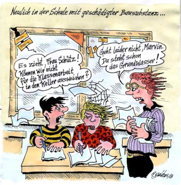 Cartoon der Woche: Bausubstanz   von Peter Baldus