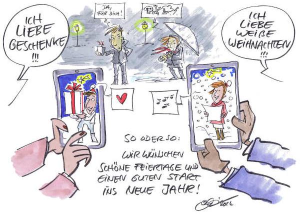 Cartoon der Woche: Feiertage und Jahreswechsel | von Michael Hüter