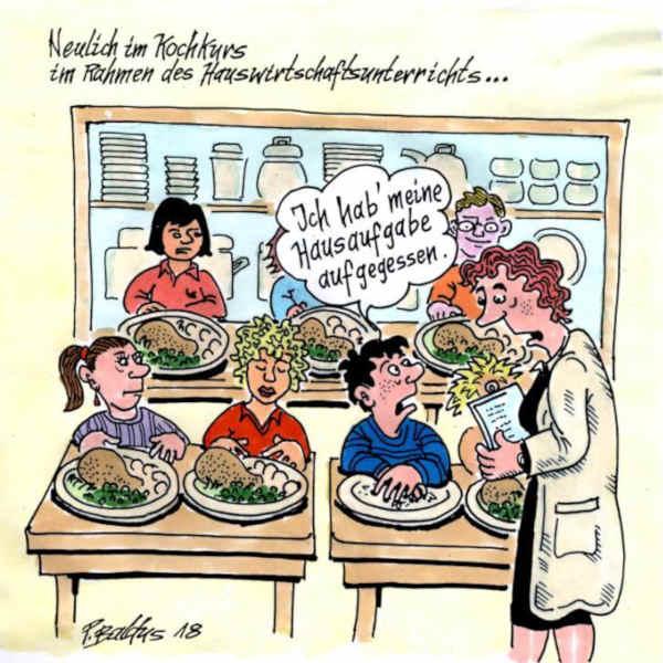 Cartoon der Woche: Kochkurs