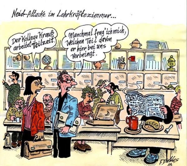 Cartoon der Woche: Neidattacke | von Peter Baldus