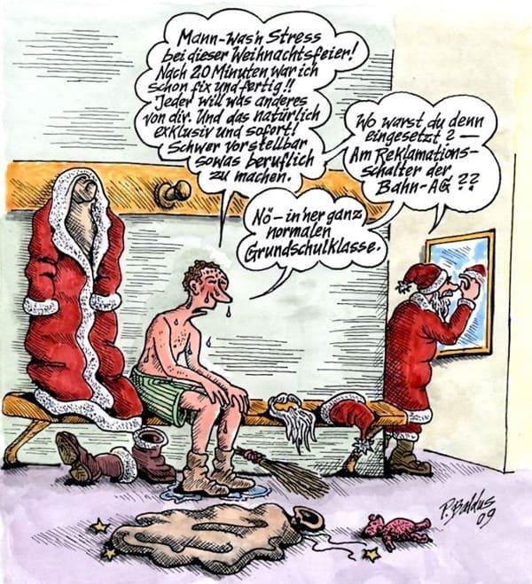 Weihnachtsfeier Cartoon.Cartoon Der Woche Weihnachtsfeier Von Peter Baldus Lehrer Online