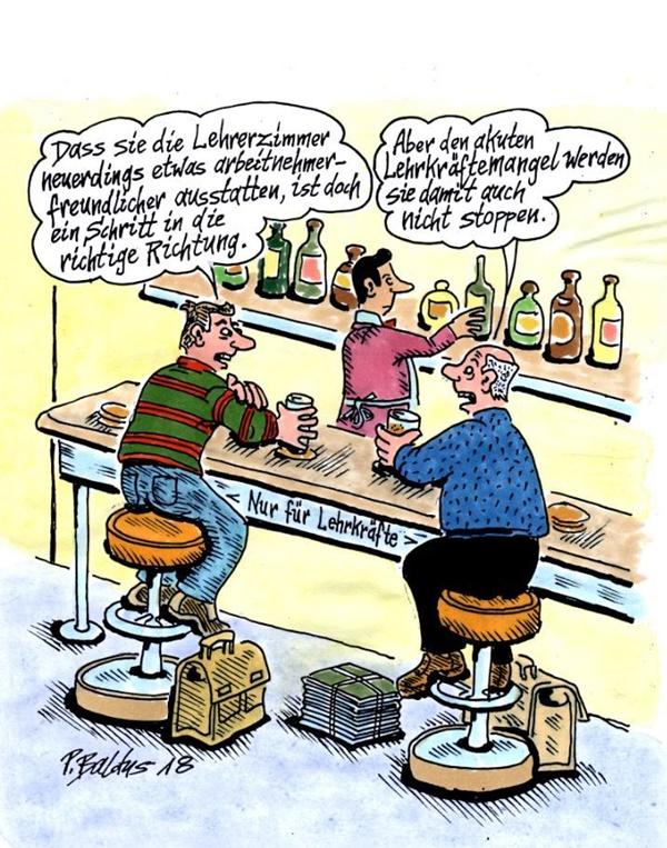 Cartoon der Woche: Arbeitnehmerfreundlich