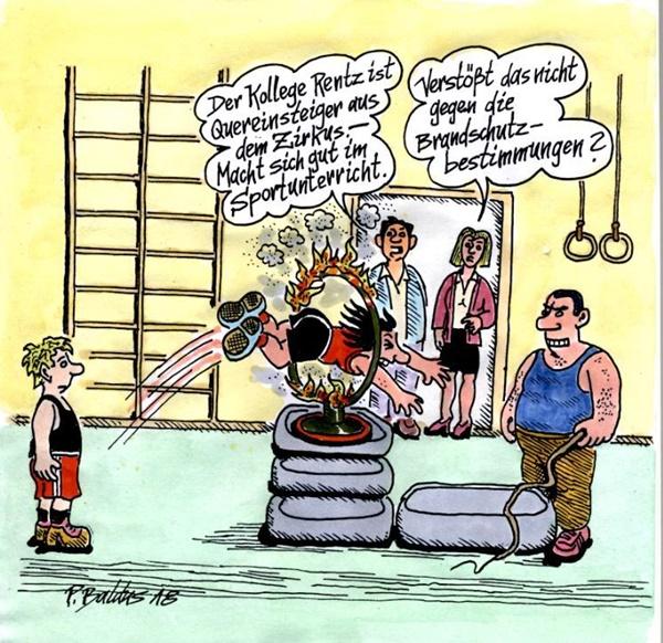 Cartoon der Woche: Brandschutz
