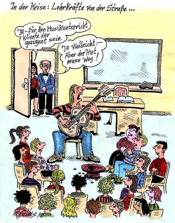 Cartoon der Woche: Von der Straße | von Peter Baldus