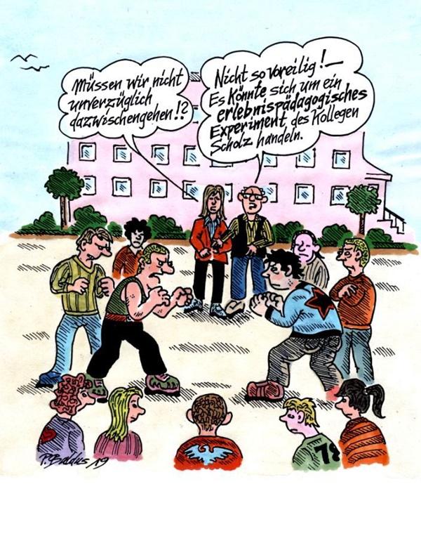 Cartoon der Woche: Erlebnispädagogik