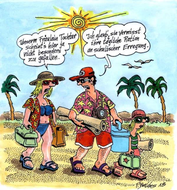 Cartoon der Woche: Erregung   von Peter Baldus