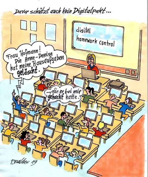 Cartoon der Woche: Homework