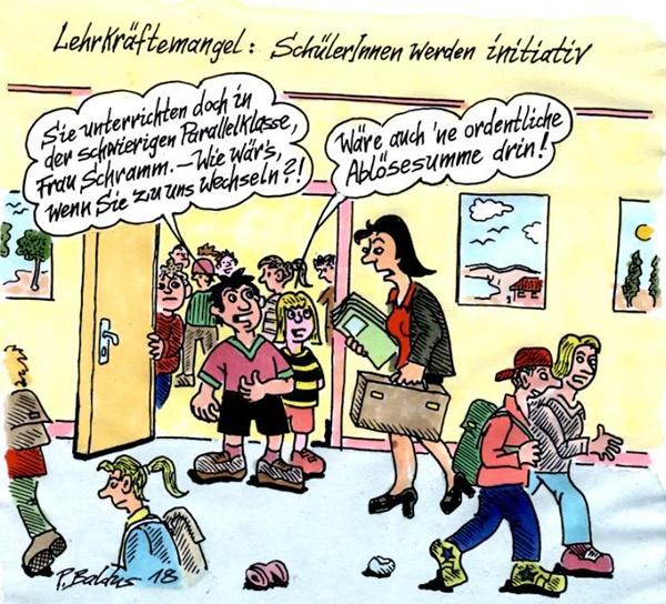 Cartoon der Woche: Initiativ