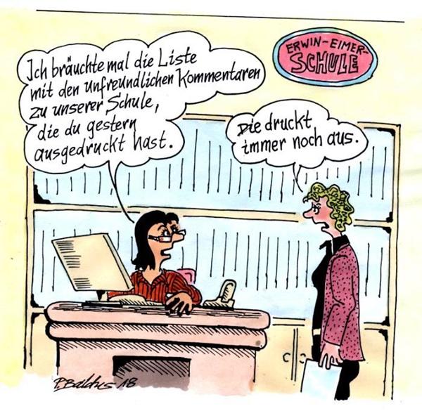 Cartoon der Woche: Kommentare