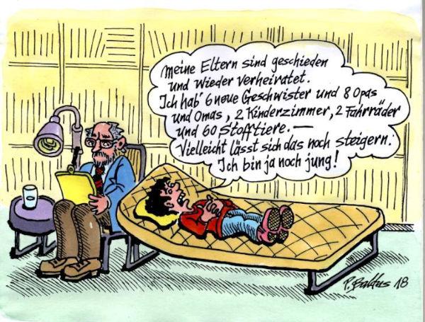 Cartoon der Woche: Steigerung | von Peter Baldus