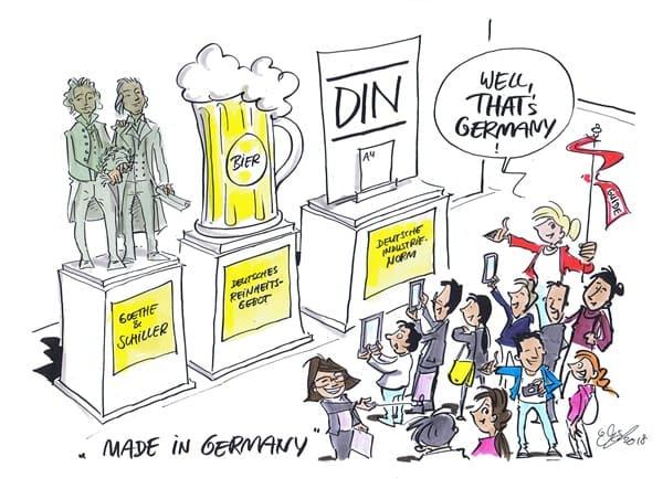Neben Goethe und Schiller hat Deutschland auch noch anderes hervorgebracht