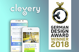 """Cornelsen Clevery"" gewinnt den ""German Design Award 2018"" in der Kategorie Apps"