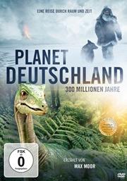 Deutschland mit Dinosauriern