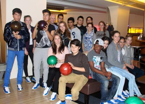 Schülerinnen und Schüler der Helene-Lange-Schule Wiesbaden