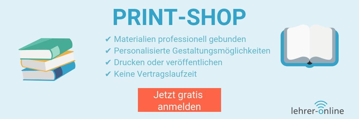 Der Lehrer-Online Print-Shop