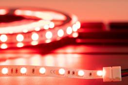 LED-Stripes in rot