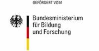 Logo des Bundesministeriums für Bildung und Forschung (BMBF) mit Schriftzug