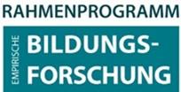 Logo des Rahmenprogramms Empirische Bildungsforschung