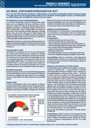 Neues Arbeitsblatt: Die Wahl zum Bundespräsidenten 2017 - Lehrer-Online