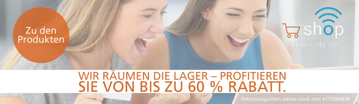 Banner Rabattaktion im Lehrer-Online-Shop