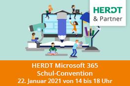 HERDT Microsoft 365 Convention für Schulen Logo Illustat
