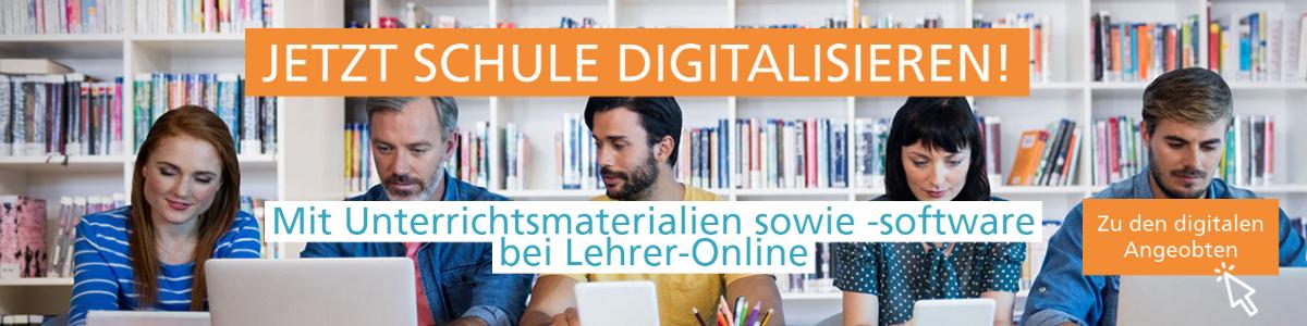 Unterrichtsmaterial und Unterrichtssoftware bei Lehrer-Online