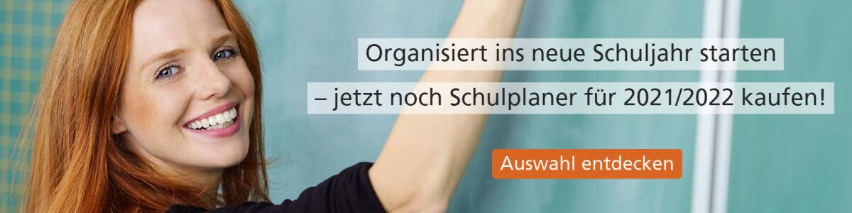 Banner Schulplaner und Lehrerkalender im Lehrer-Online-Shop