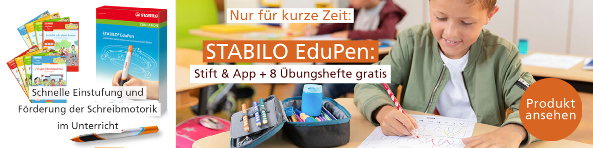 Banner Lehrer-Online-Shop Rabattbundle STABILO EduPen