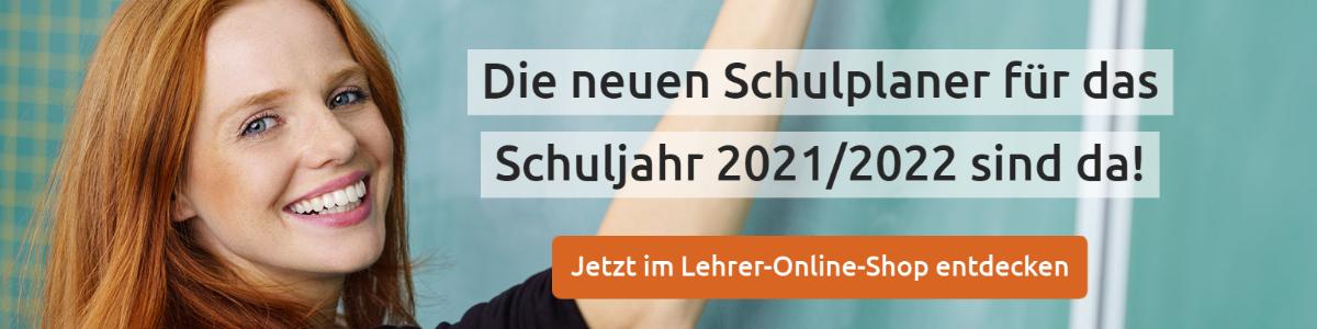 Schulplaner für das Schuljahr 2021/2022
