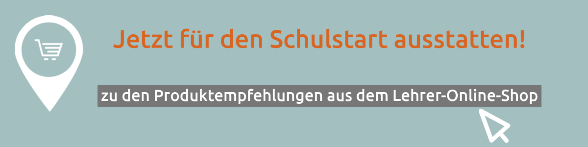 Banner Schulstart-Angebote im Lehrer-Online-Shop