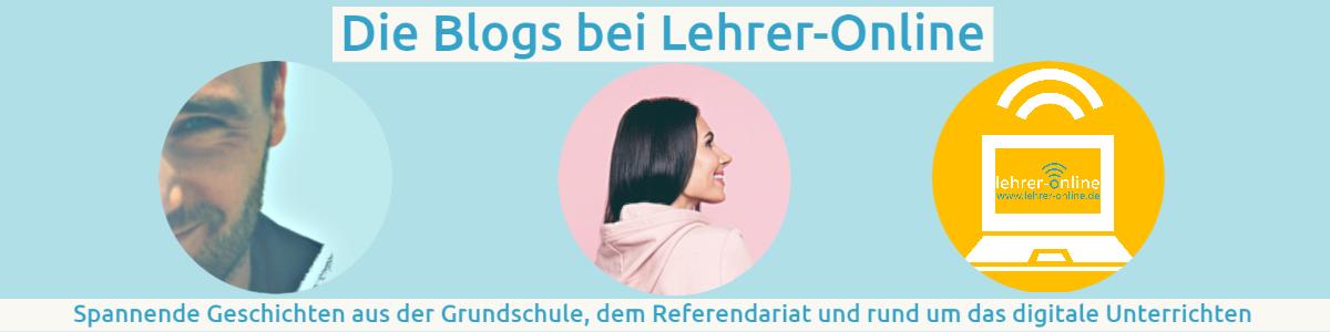 Banner Blogs bei Lehrer-Online