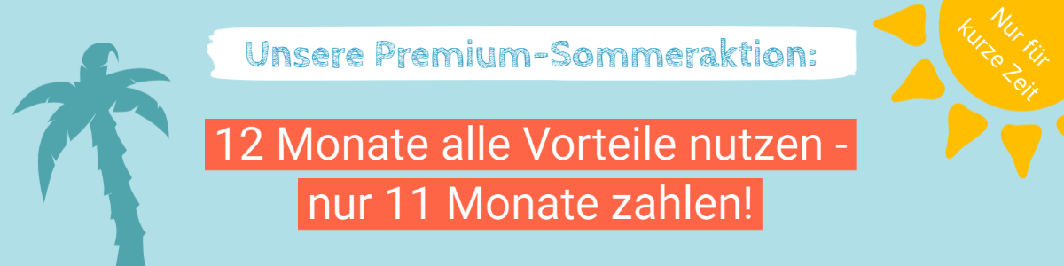 Banner Premium-Sommeraktion