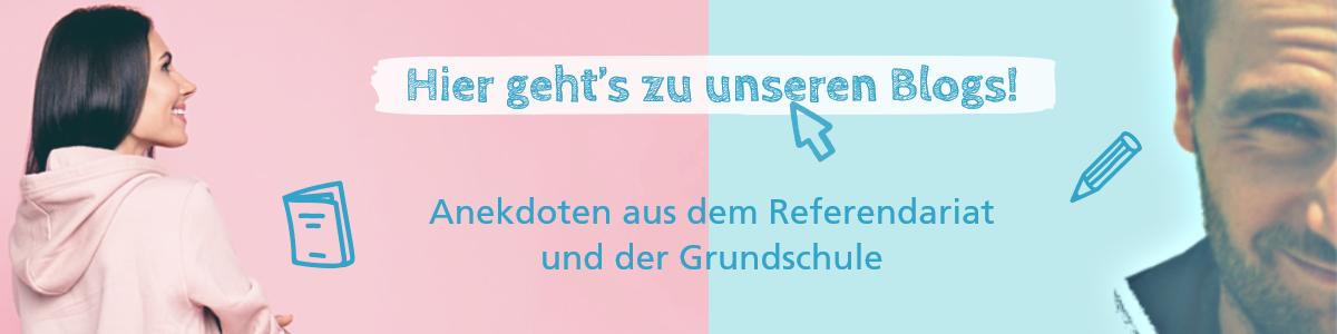 Banner zum Referendars- und Grundschulblog
