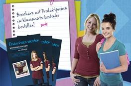 Bestellung von kostenlosen Produktproben der Marke Always im Themenportal Pubertät
