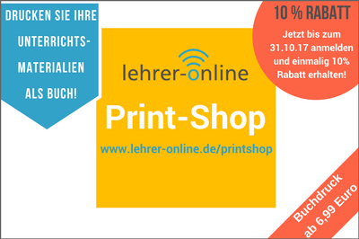 Print-Shop, Buch drucken, Rabattaktion