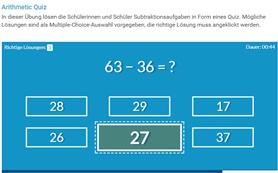 interaktive h5p Elemente Grundrechenarten