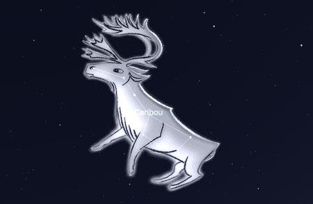 Das Sternbild Karibu der Inuit