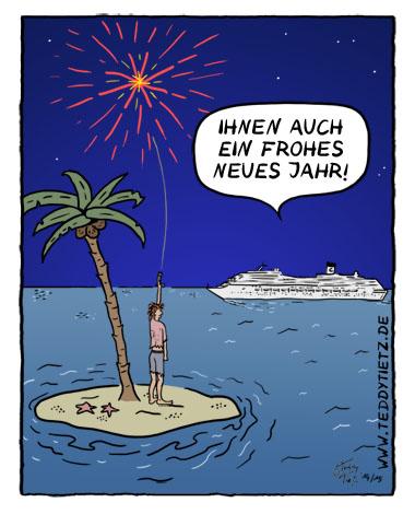 Cartoon der Woche: Frohes neues Jahr - Lehrer-Online