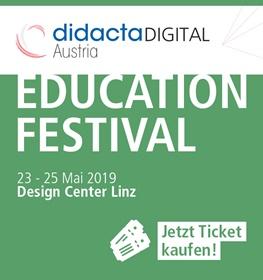 Bild zum Education Festival der didacta DIGITAL in Österreich